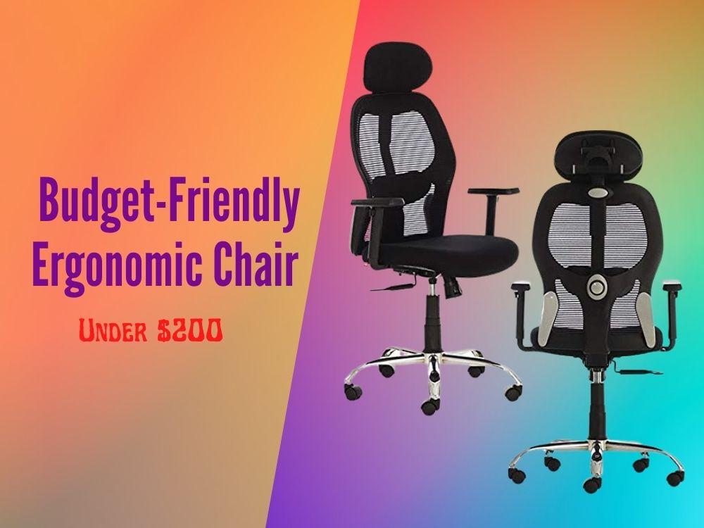 Best budget friendly ergonomic chair under $200 Review-min